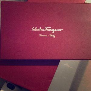 Salvatore Ferragamo wallet Box